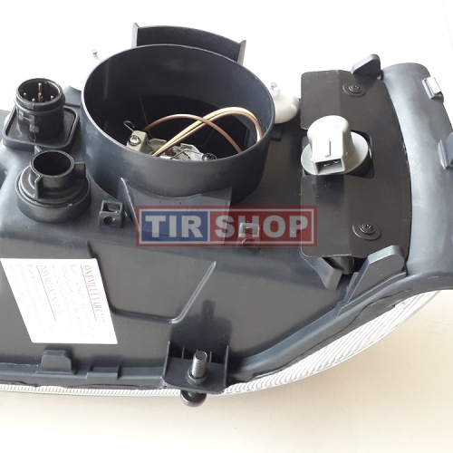 Far dreapta DAF CF 65/ 75/ 85, XF 95/ 105 2003-2012, 1641743 1699299 1699301 1699315 1743683 1743685, reglaj manual