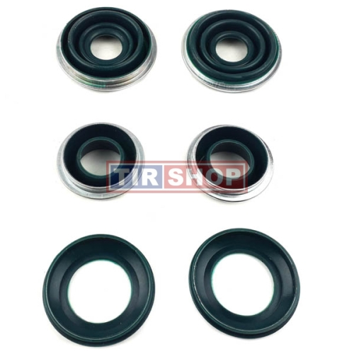Set burdufe si suruburi etrier semiremorca DX 195 | MAY 6102-01, MCK 1192, 352114