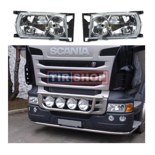 Far stanga Scania  P G R T seria 4 2008+2018, 1900349 1760551, reglaj manual