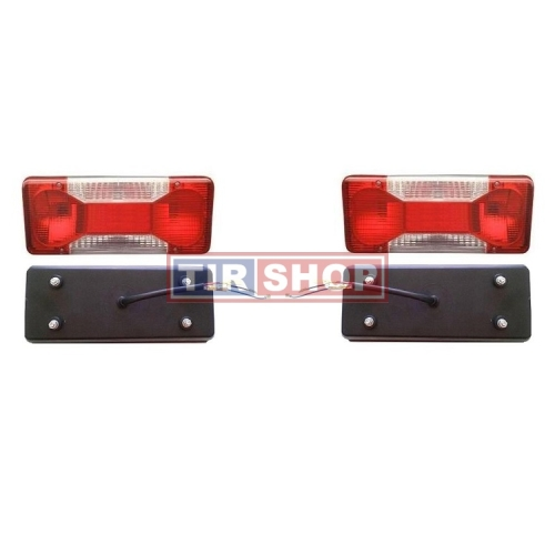 Lampa spate stop stanga Iveco Daily, Fiat Ducato Doblo cargo pick-up, OE 69500032, cu fir