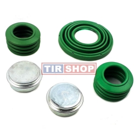 "Set burdufe si capac Wabco 17,5"" cu singur piston 